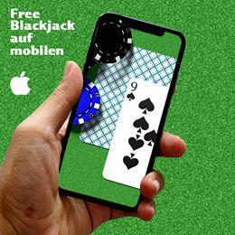 Hand mit Handy mit Karten auf dem Bildschirm