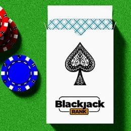 Packen von Spielkarten für Blackjack