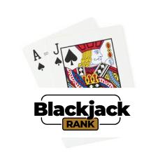 BlackJackRank Logo Blackjack Kombination